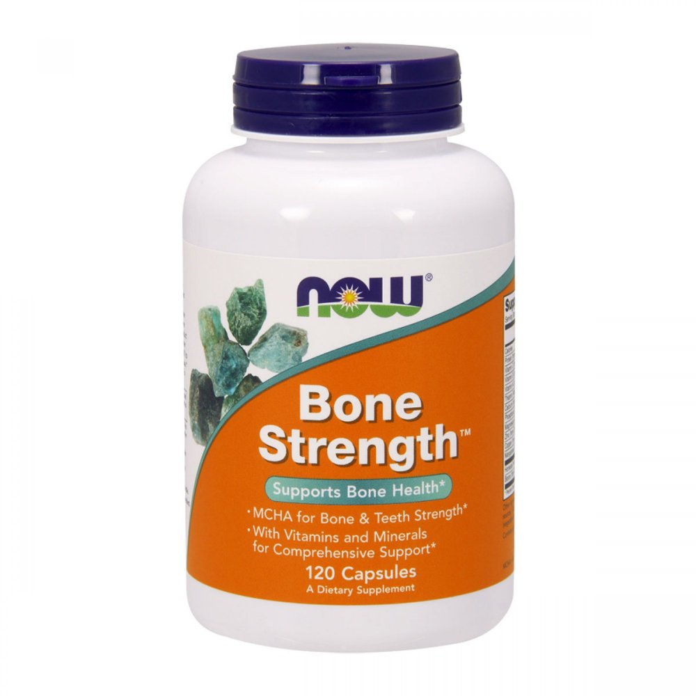 Bone Strength 120 капсул NOW Foods