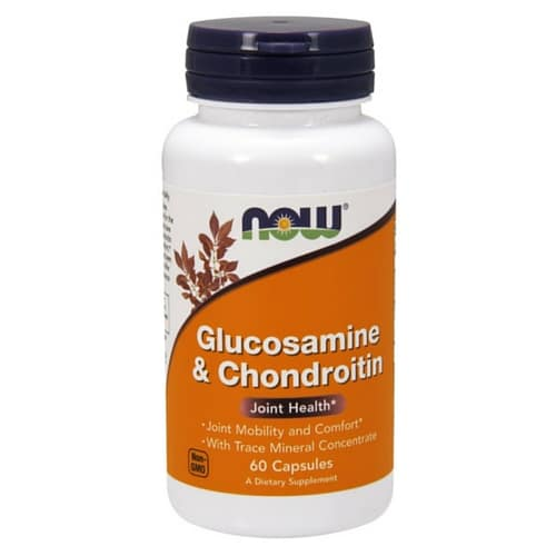 Glucosamine & Chondroitin 60 таблеток NOW Foods