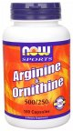 Arginine 500 mg / Ornithine 250 mg